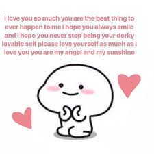 Cute I Love You Meme - image about cute in 𝙨𝙤𝙛𝙩 𝙢𝙚𝙢𝙚𝙨 by on we heart it