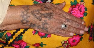 hand tatoo image algeria tattoos of chaouia women pulitzer center