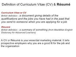 cv uk cv or resume meaning resume cv curriculum vitae exle uk