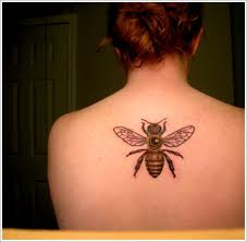 28 cute queen bee tattoo designs for women and men