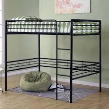 full size loft bed on hayneedle double loft bed