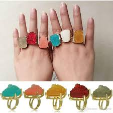 crystal stone rings images 2018 ring for women natural big crystal stone ring geometric jpg