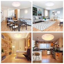 led ceiling lights for kitchen modern 24w round led ceiling light chandelier pendant lamp flush
