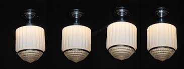 Art Deco Ceiling Light Fixtures Vintage Schoolhouse Art Deco Lighting Fixtures Schoolhouse Light