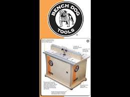 Bench Dog Router Table Review Benchtop Router Table Bench Dog 40 001 Youtube
