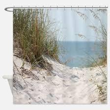 Beachy Shower Curtains Shower Curtains Cafepress