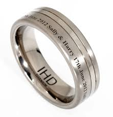 personalized wedding bands engravings inside wedding rings tags engraved mens wedding rings