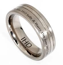 wedding band names engravings inside wedding rings tags engraved mens wedding rings