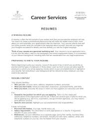 resume objective exles for highschool students resume objectives for high students