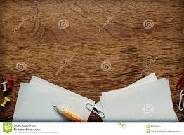 surface bureau fournitures de bureau sur la surface en bois avec l espace de copie