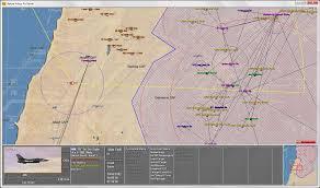 Mideast Map John Tiller Software Modern Air Power War Over The Mideast