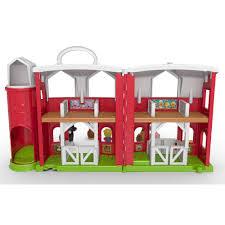 Fisher Price Doll House Furniture Little People Animal Friends Farm Walmart Com