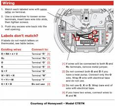 wiring diagrams 7 wire thermostat air conditioner thermostat