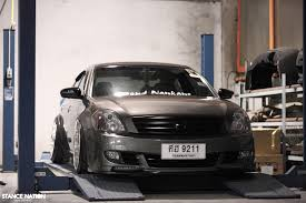 nissan teana modified vip thailand style stancenation form u003e function