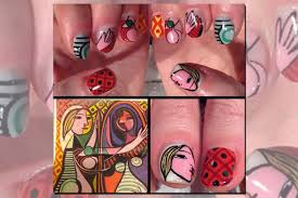 a picasso manicure the rise of fine art nails