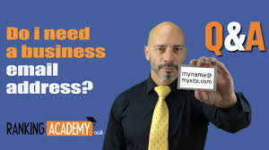 Business Emails Address by Do I Need A Business Email Address Youtube