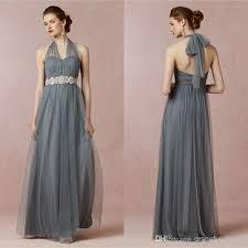 halter bridesmaid dresses mayan blue halter bridesmaid dress soft tulle prom dresses