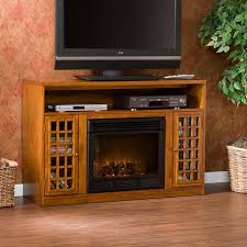 Electric Fireplace With Storage by Narita Electric Fireplace Tv Stand Brookstone