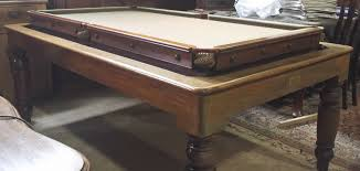 tabletop pool table 5ft antique rollover snooker dining table browns antiques billiards