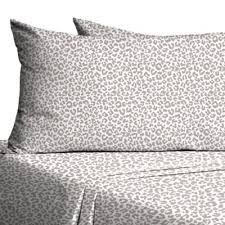 Bed Bath And Beyond Flannel Sheets Buy Leopard Sheets From Bed Bath U0026 Beyond