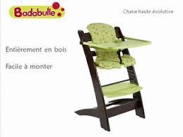 chaise volutive badabulle chaise haute évolutive badabulle vidéo dailymotion