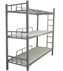 Three Tier Bunk Bed Bedroom Furniture Three Tier Bunk Bed Metal Bunk Bed Buy