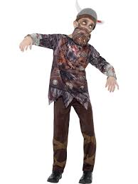 child halloween costumes uk kids viking zombie costume