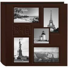 archival quality photo albums archival quality brown leatherette collage frame photo album
