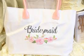 bridesmaid bags watercolor floral bridesmaid tote bag i do boutique cypress tx