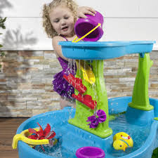step 2 rain showers splash pond water table rain showers splash pond water table kids sand water play step2