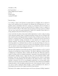 Cover Letter For University Teaching Job by Faculty Position Cover Letters Cover Letter For Academic Advisor