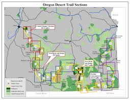 Map Of Southern Oregon by Oregon Desert Trail Guide U0026 Resources U2014 Oregon Natural Desert