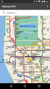metro york map subway nyc no ads android apps on play