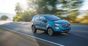 ford jeep 2017 the wee little ecosport is ford u0027s new small suv the verge