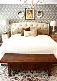 Makeover My Bedroom - master bedroom makeover using a cutting edge stencil hometalk