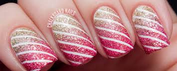 festive christmas nail art to celebrate the holiday season in