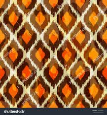 Ikat Home Decor Fabric by Stylish Modern Ikat Tribal Seamless Pattern Stock Vector 154290992