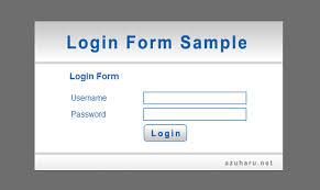 membuat form input menggunakan html tutorial membuat form login website menggunakan html dan css