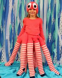 Animal Halloween Costumes Kids Krake Kostüm Zum Selbermachen Lustige Faschingskostüme Für Kinder