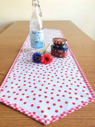 48 inch table runner oilcloth 48 inch table runner red and white table runner