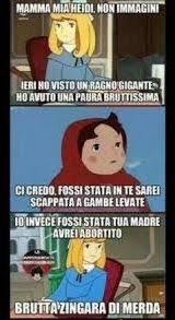 Heidi Meme - heidi meme clara cazzate pinterest meme italian humor and humor