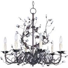 maxim lighting elegante 6 light oil rubbed bronze chandelier