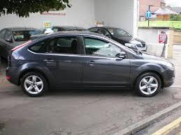 used ford focus tdci used ford focus 2010 diesel 1 6 tdci zetec 5dr hatchback grey for