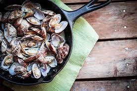 cuisiner la palourde recette ho rapa vénus sautées au basilic