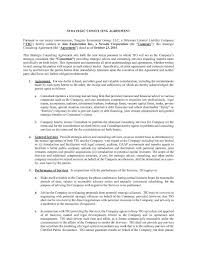 consulting agreement form business u2013 service agreements new