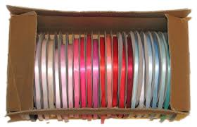 spools of ribbon how to make a ribbon storage dispensor box for 100 yard spools