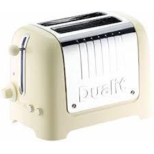 Toaster With Sandwich Cage Dualit 26202 2 Slot Lite Toaster 1 1 Kw Cream Amazon Co Uk