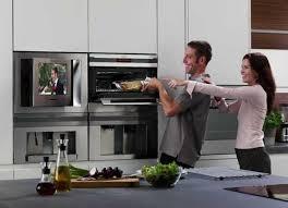 tv in kitchen ideas 7 modern kitchen design trends stylishly incorporating tv sets