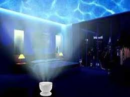 sound machine with light projector ocean sea wave shore night light projector projection sound machine