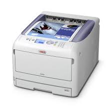 oki c831n color laser printer staples